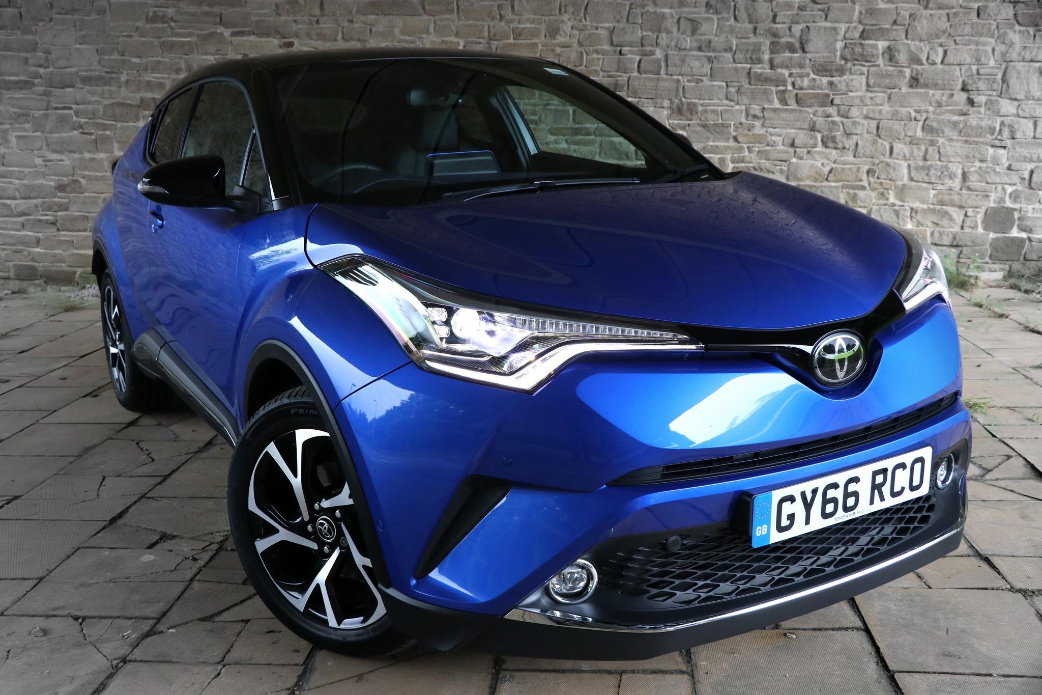 Toyota C-HR Dynamic 1.2 CVT - Review