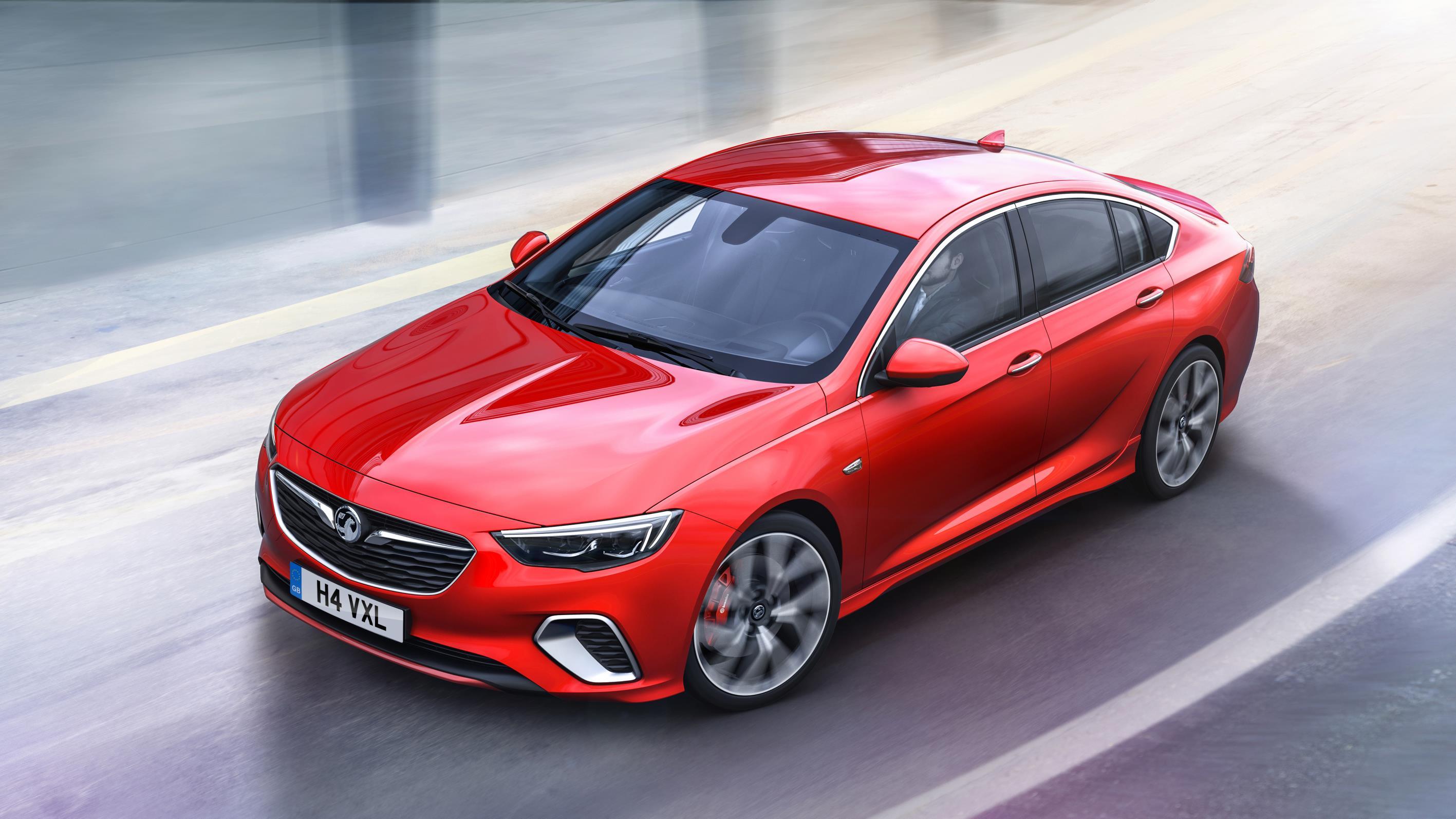 New Vauxhall Insignia GSi revealed