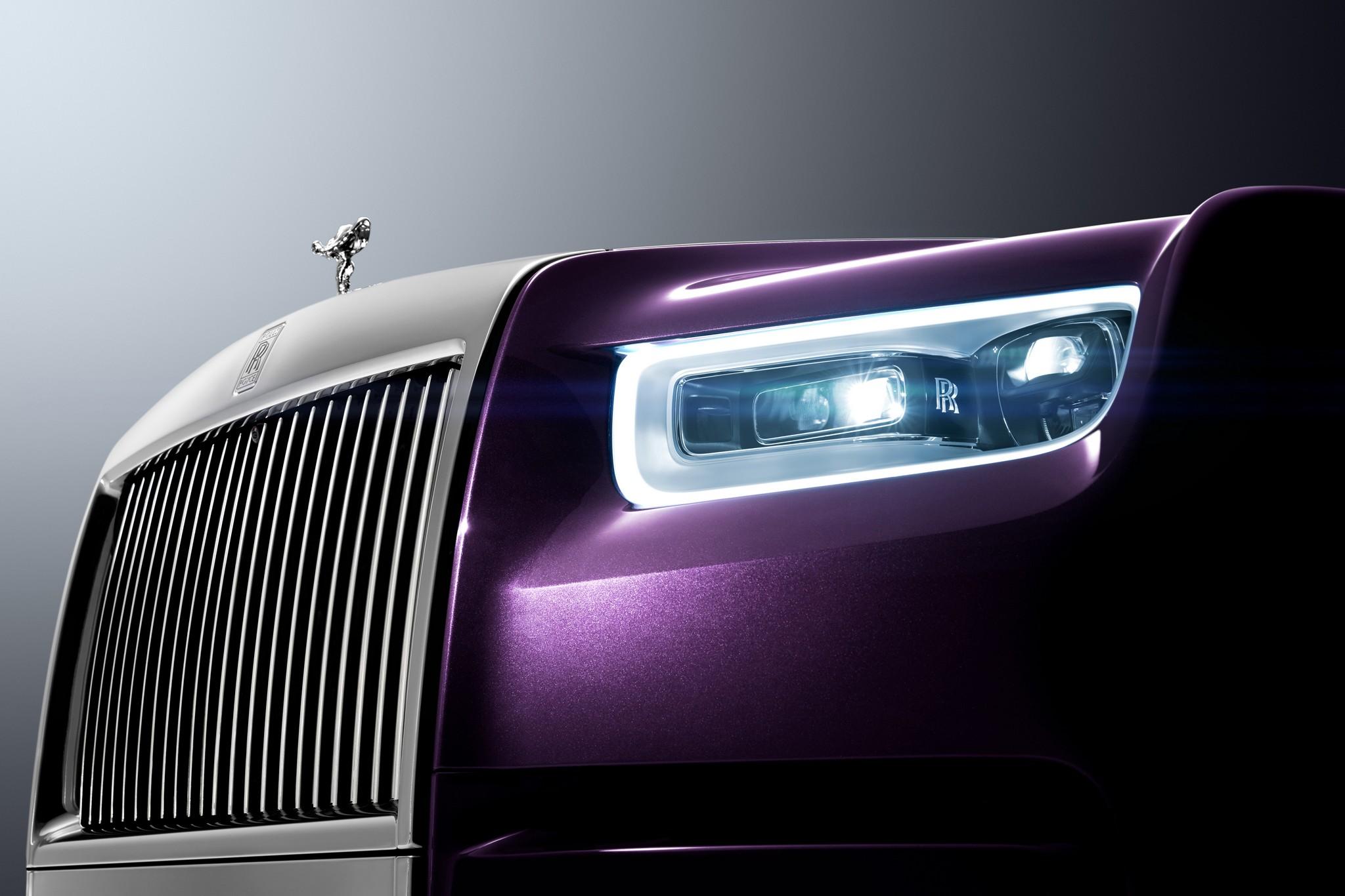 The new Rolls Royce Phantom - News
