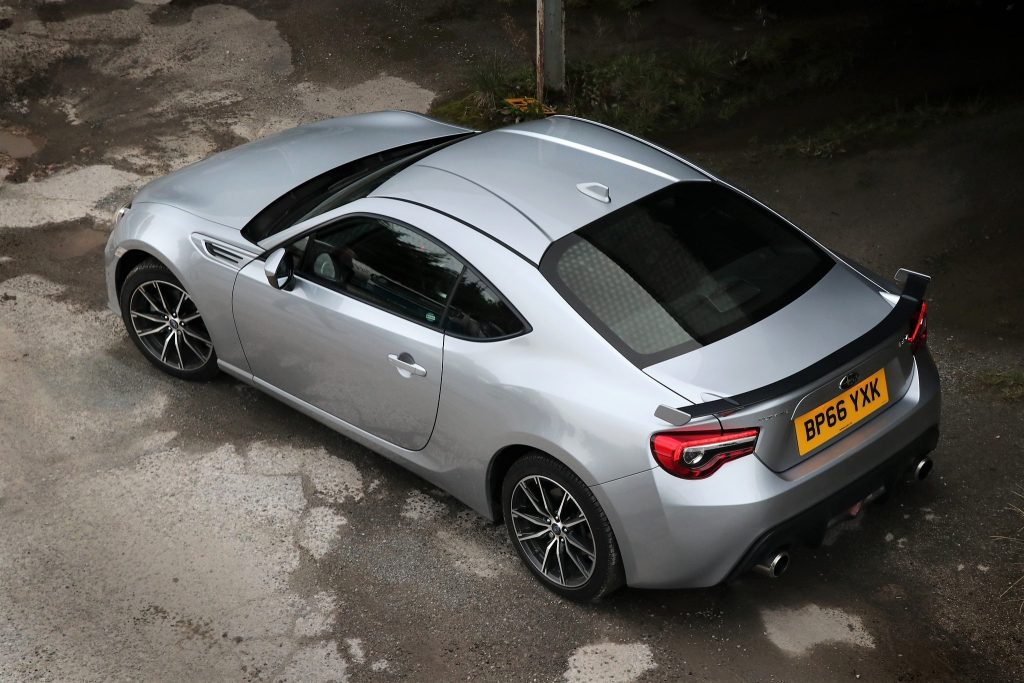 The Subaru BRZ Is A Low Slung Sports Car With The Classic Lines Of A Long  Bonnet, 2 Doors And A Stubby Rear, With A Fairly Long Wheel Base That Helps  The ...