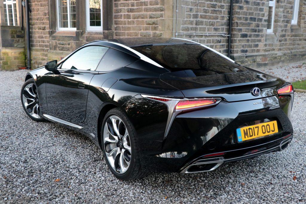 Lexus Lc 500h Sport Pack Car Review Car Indicators