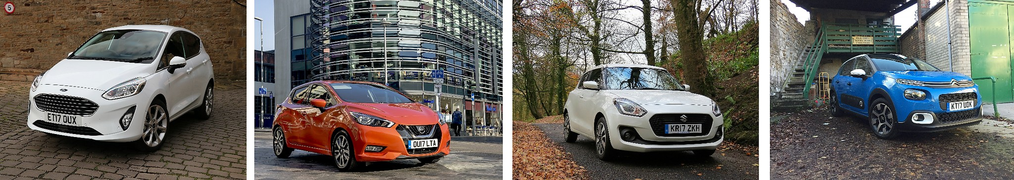 Fiesta, Micra, Swift and C3 multi-car Review