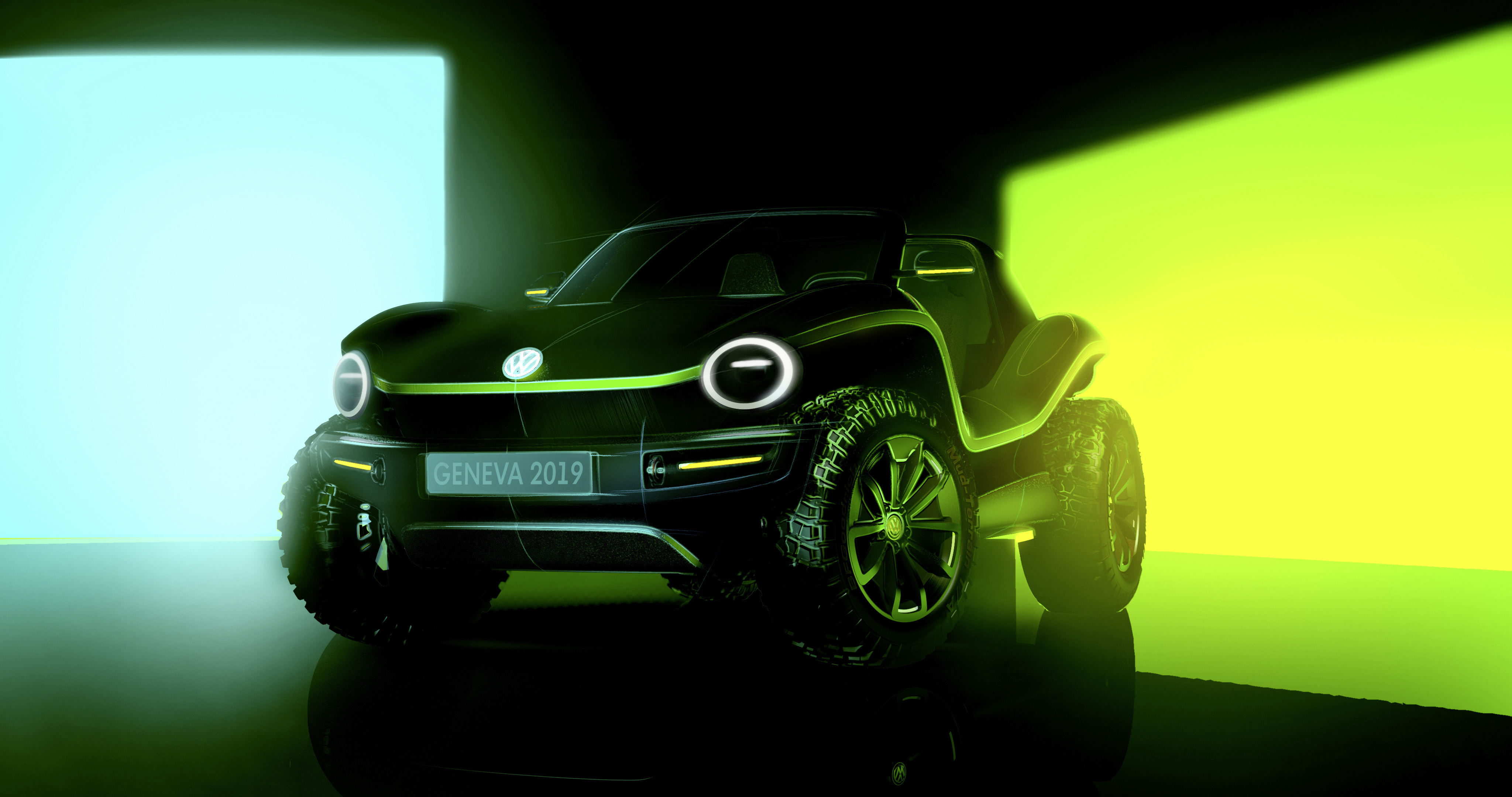 Volkswagen's new electric Buggy isn't Golf related . . .
